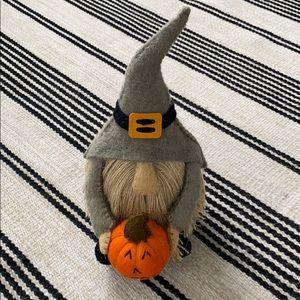 Fall Pumpkin Gnome